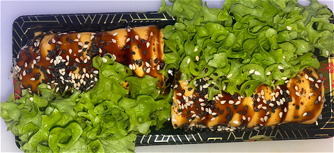 Foto Flamed Cheese Ebi Roll